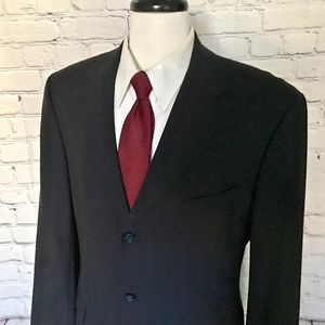 Brooks Brothers 346 Men's Black Sport Coat 43L
